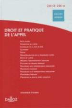 DROIT ET PRATIQUE DE L'APPEL 20132014 - 1ERE EDITION