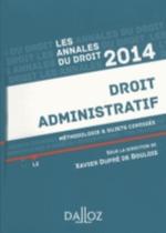 Droit administratif 2014