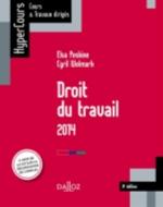 DROIT DU TRAVAIL  2014  8ED  HYPERCOURS