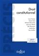 DROIT CONSTITUTIONNEL. EDITION 2017 - 19E ED.