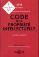 CODE DE LA PROPRIETE INTELLECTUELLE 2018, ANNOTE & COMMENTE