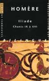 ILIADE  -  CHANTS IX A XVI
