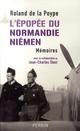 L'EPOPEE DU NORMANDIE-NIEMEN MEMOIRES