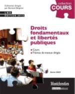 DROITS FONDAMENTAUX ET LIBERTES PUBLIQUES - 3EME EDITION