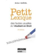 PETIT LEXIQUE DES FAUTES USUEL