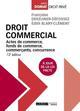DROIT COMMERCIAL  -  ACTES DE COMMERCE, FONDS DE COMMERCE, COMMERCANTS, CONCURRENCE (12E EDITION)