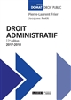 DROIT ADMINISTRATIF 11EME EDITION