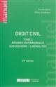 DROIT CIVIL : REGIMES MATRIMON