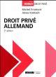 DROIT PRIVE ALLEMAND 2EME EDITION