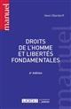 DROITS DE L'HOMME ET LIBERTES FONDAMENTALES 6EME EDITION
