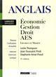 ANGLAIS : ECONOMIE, GESTION, DROIT, AES - 4EME EDITION THOMPSON L. P-T. LGDJ