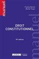 DROIT CONSTITUTIONNEL - 39EME EDITION