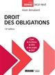 DROIT DES OBLIGATIONS 16EME EDITION