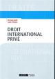 DROIT INTERNATIONAL PRIVE - 1ERE EDITION