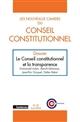 LES NOUVEAUX CAHIERS DU CONSEIL CONSTITUTIONNEL 4 2017