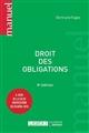 DROIT DES OBLIGATIONS - 8EME EDITION
