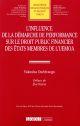 INFLUENCE DE DEMARCHE DE PERFORMANCE SUR LE DT PUB.FIN. DES ETATS MEMBRES UEMOA