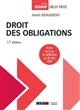 DROIT DES OBLIGATIONS - 17EME EDITION