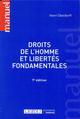 DROITS DE L'HOMME ET LIBERTES FONDAMENTALES