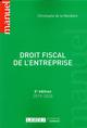 DROIT FISCAL DE L'ENTREPRISE (EDITION 20192020)