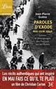 PAROLES D'EXODE, MAI-JUIN 1940 GUENO JEAN-PIERRE Librio