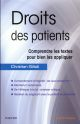 DROITS DES PATIENTS GILIOLI CHRISTIAN MASSON