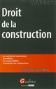 DROIT DE LA CONSTRUCTION - 2EME EDITION