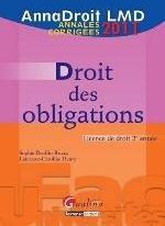ANNADROIT 2011. DROIT DES OBLIGATIONS, 12EME EDITION