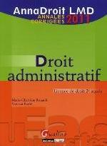 ANNADROIT 2011. DROIT ADMINISTRATIF, 12EME EDITION
