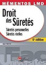 MEMENTOS LMD-DROIT DES SURETES,5EME EDITION