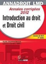 ANNA DROIT 2012.INTRODUCTION AU DROIT ET DROIT CIVIL,13EME EDITION