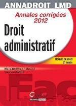 ANNA DROIT 2012 . DROIT ADMINISTRATIF,13EME EDITION