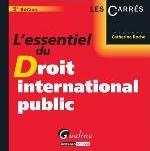 ESSENTIEL DU DROIT INTERNATIONAL PUBLIC 5ED