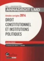 ANNALES DROIT CONSTITUTIONNEL