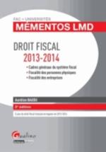 DROIT FISCAL   2ED  2013-2014  MEMENTOS LMD