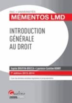 INTRODUCTION GENERALE AU DROIT  7ED