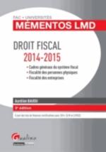 DROIT FISCAL   3ED  MEMENTOS L