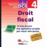 DROIT FISCAL   DCG4   CARRES D