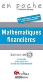MATHEMATIQUES FINANCIERES, 2EM