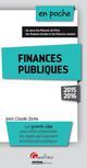 FINANCES PUBLIQUES 2015-2016 - 2EME EDITION