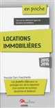 LOCATIONS IMMOBILIERES 2015-2016