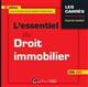 L'ESSENTIEL DU DROIT IMMOBILIER 2016-2017 - 6EME EDITION - A JOUR DES DERNIERES REFORMES LEGISLATIVE