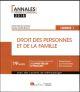 DROIT DES PERSONNES ET DE LA FAMILLE - L1-S2 2EME EDITION