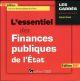 L'ESSENTIEL DES FINANCES PUBLIQUES DE L'ETAT - 18EME EDITION - TOUT SUR LES FINANCES PUBLIQUES DE LA