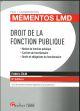 DROIT DE LA FONCTION PUBLIQUE 5EME EDITION