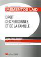 DROIT DES PERSONNES ET DE LA FAMILLE - 17EME EDITION