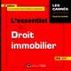 L'ESSENTIEL DU DROIT IMMOBILIER (EDITION 20182019)