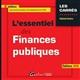 L ESSENTIEL DES FINANCES PUBLIQUES 6EME EDITION