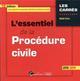L'ESSENTIEL DE LA PROCEDURE CIVILE - 15EME EDITION