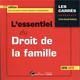 L'ESSENTIEL DU DROIT DE LA FAMILLE - 17EME EDITION